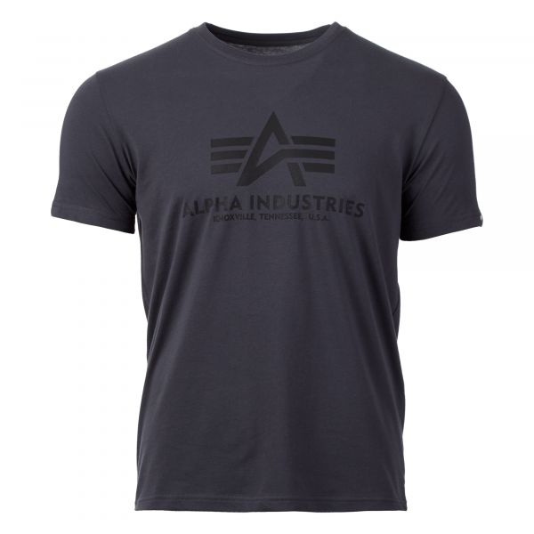Alpha Industries Shirt Basic T greyblack schwarz