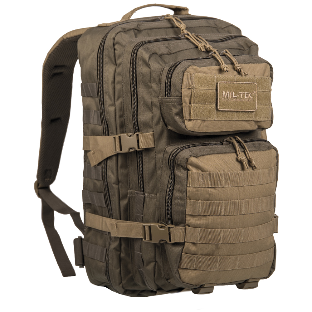 Mil-Tec Rucksack US Assault Pack LG ranger green coyote