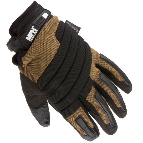 MFH Defence Handschuhe Operation schwarz/coyote