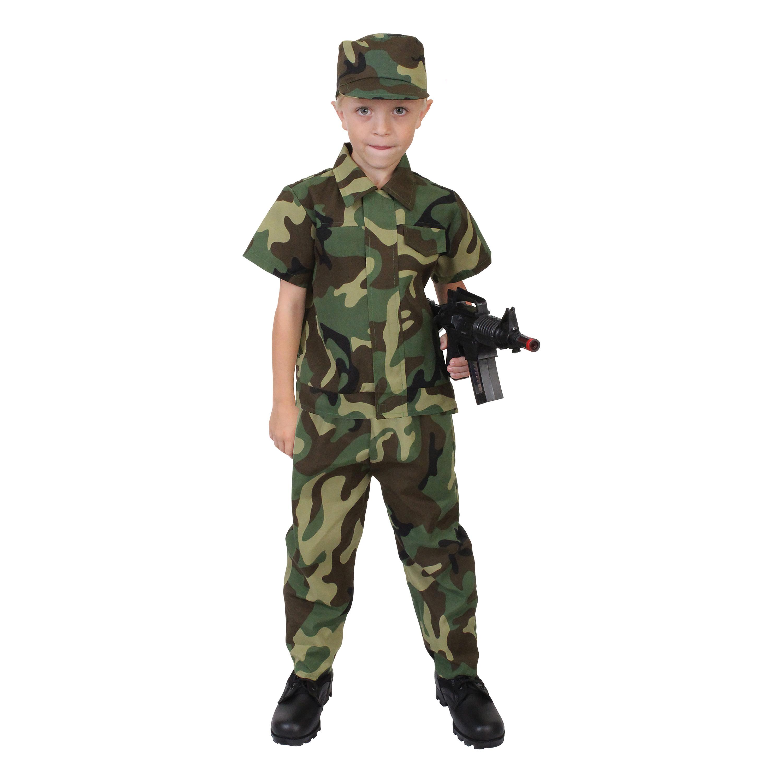 Kinderkostüm Rothco Soldat woodland