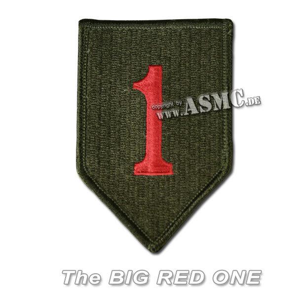 Abzeichen US Textil 1st. Division