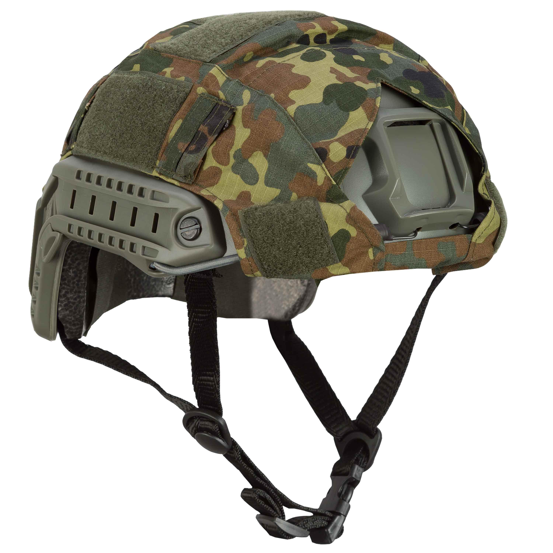 Invader Gear Helmbezug Fast Helmet Cover flecktarn