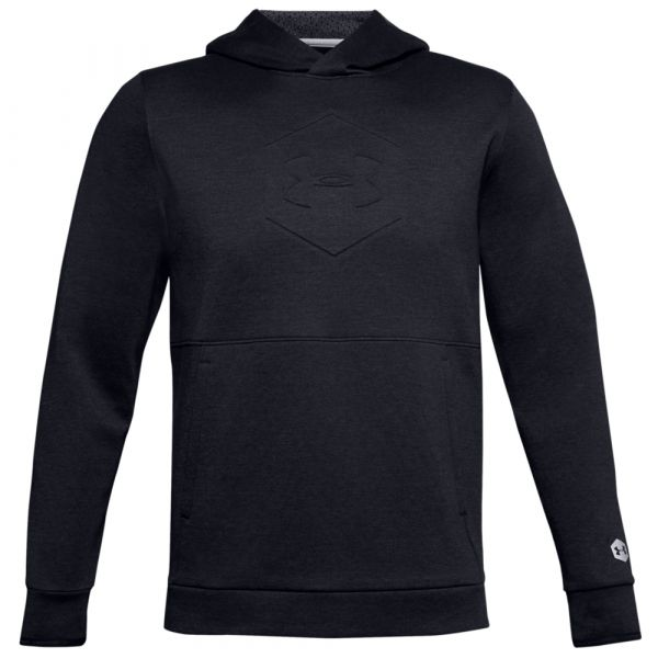 Under Armour Hoodie Athlete Recovery Fleece Graphic schwarz