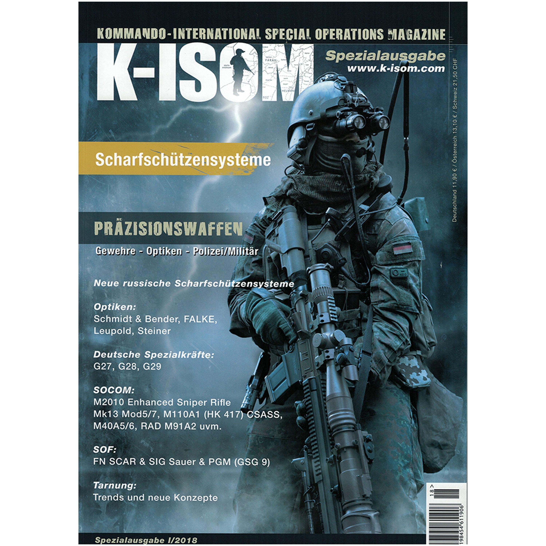 Kommando Magazin K-ISOM Spezialausgabe I/2018 Scharfschützen