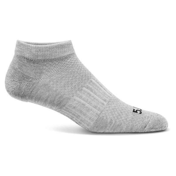 5.11 Socken PT Ankle Sock 3er Pack heather grey