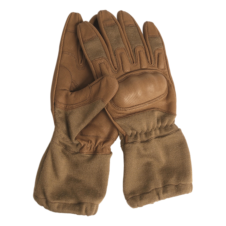 Handschuhe Action Gloves flammhemmend mit Stulpe coyote