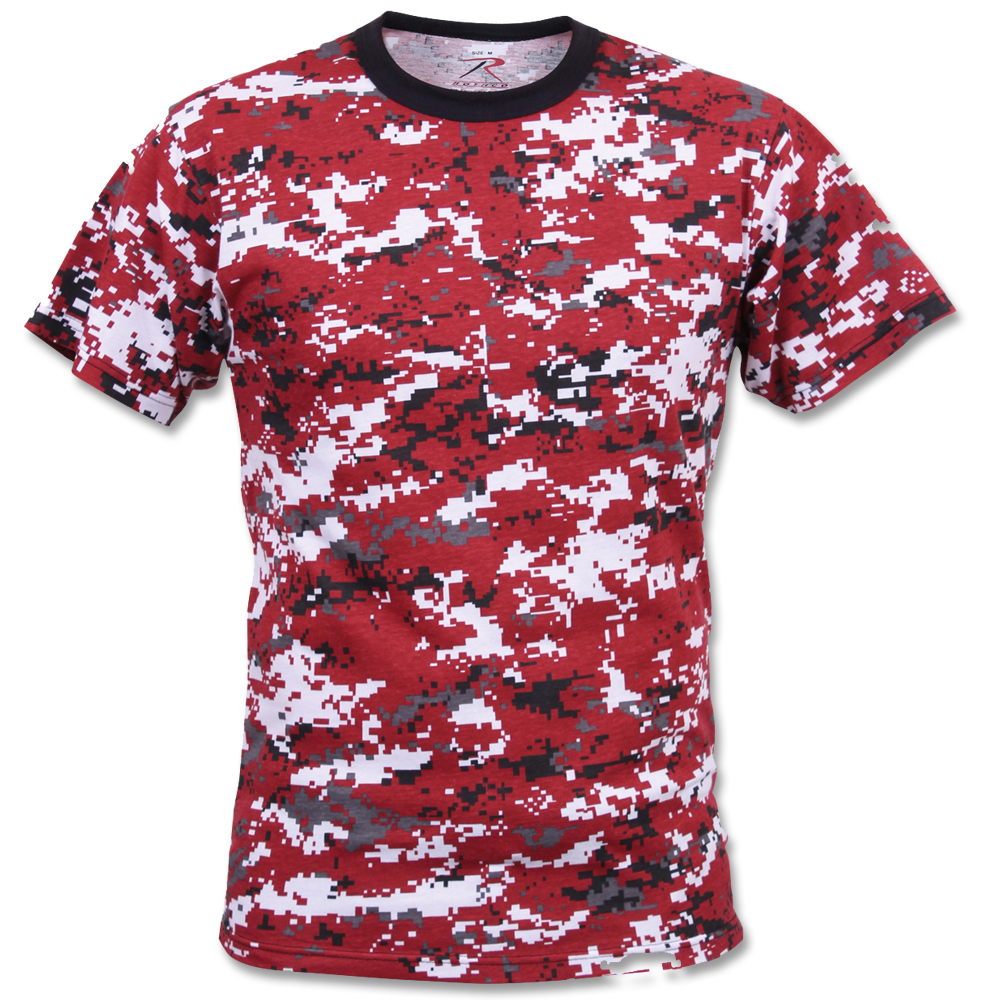 T-Shirt Rothco Digital Camo rot