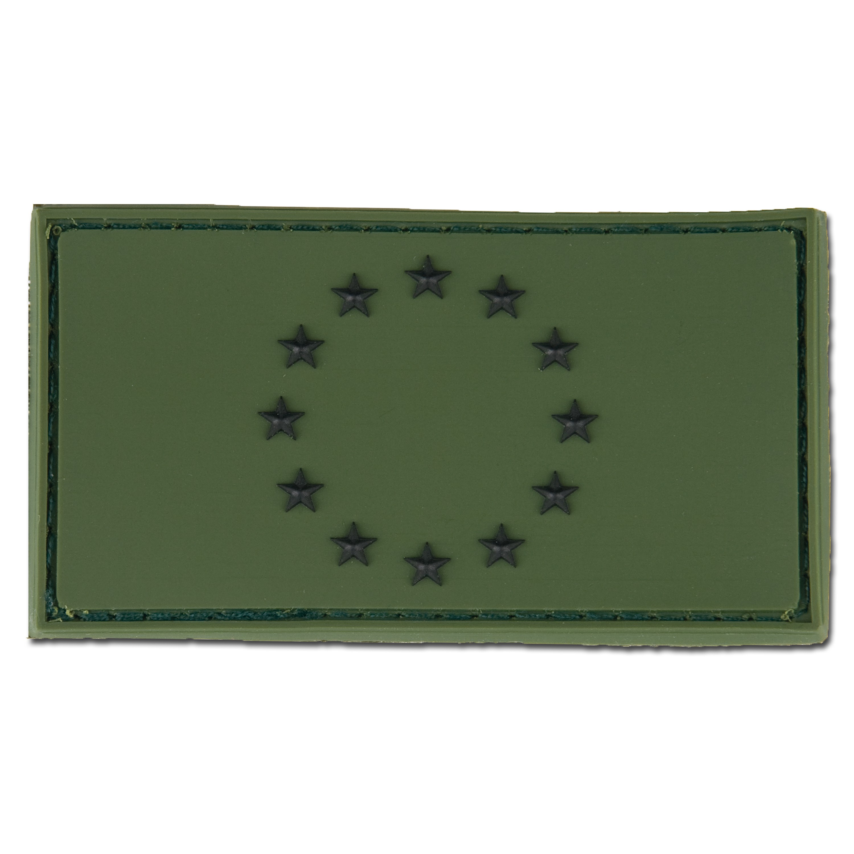 3D-Patch EU Flag forest