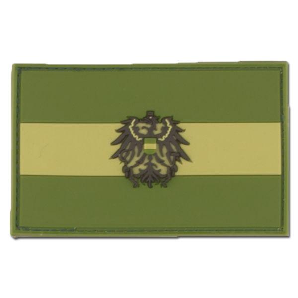 3D-Patch Österreich mit Wappen forest