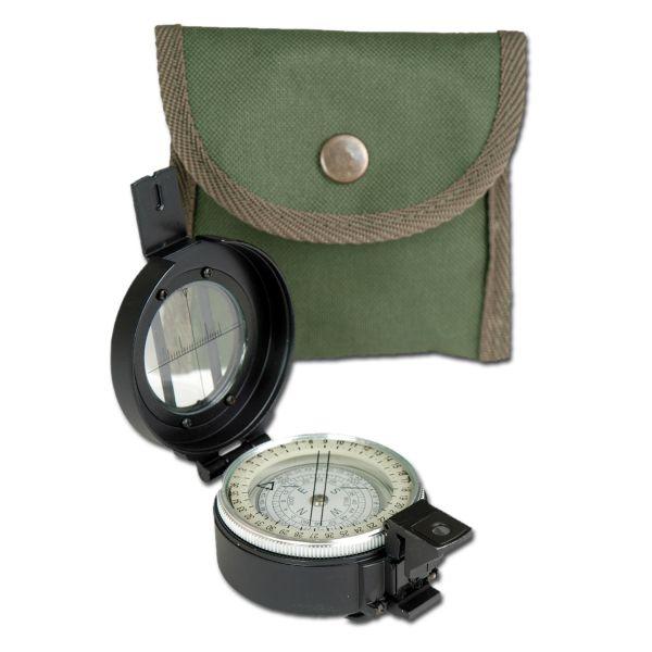 Britischer Lensatic Kompass Metall Repro