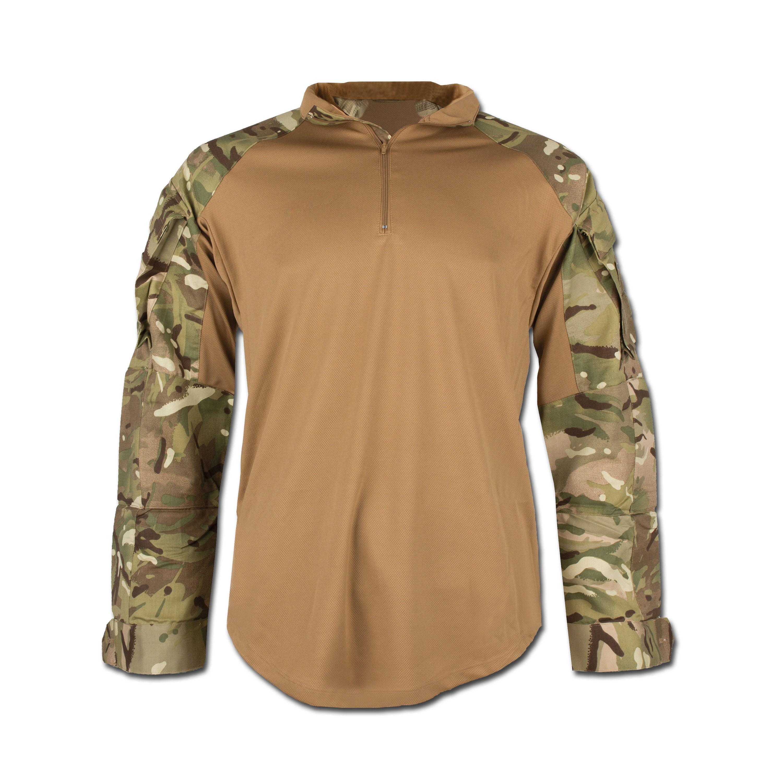 Britisches Combat Shirt Hot Weather MTP tarn neuwertig