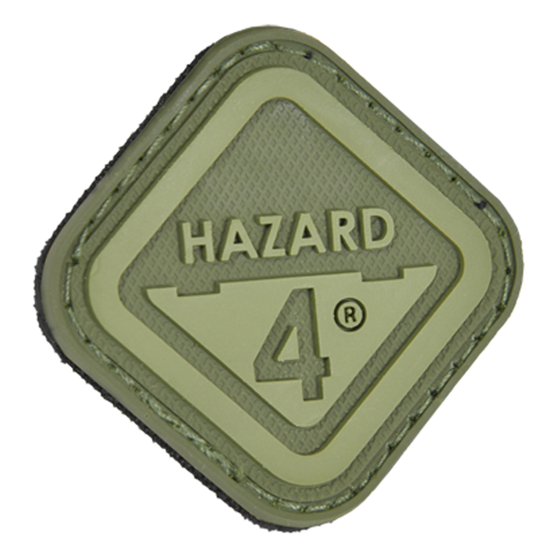 3D-Patch Hazard 4 Diamond Shape Morale OD green