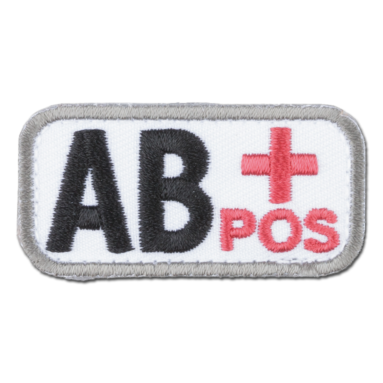 MilSpecMonkey Patch Blutgruppe AB Pos medical
