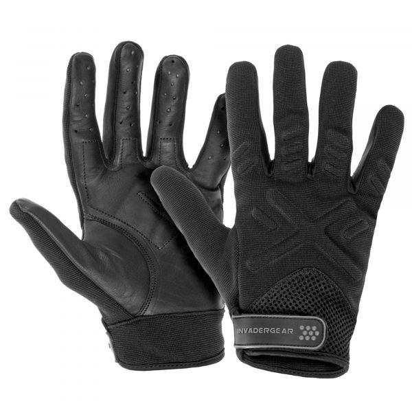 Invader Gear Handschuhe Shooting schwarz