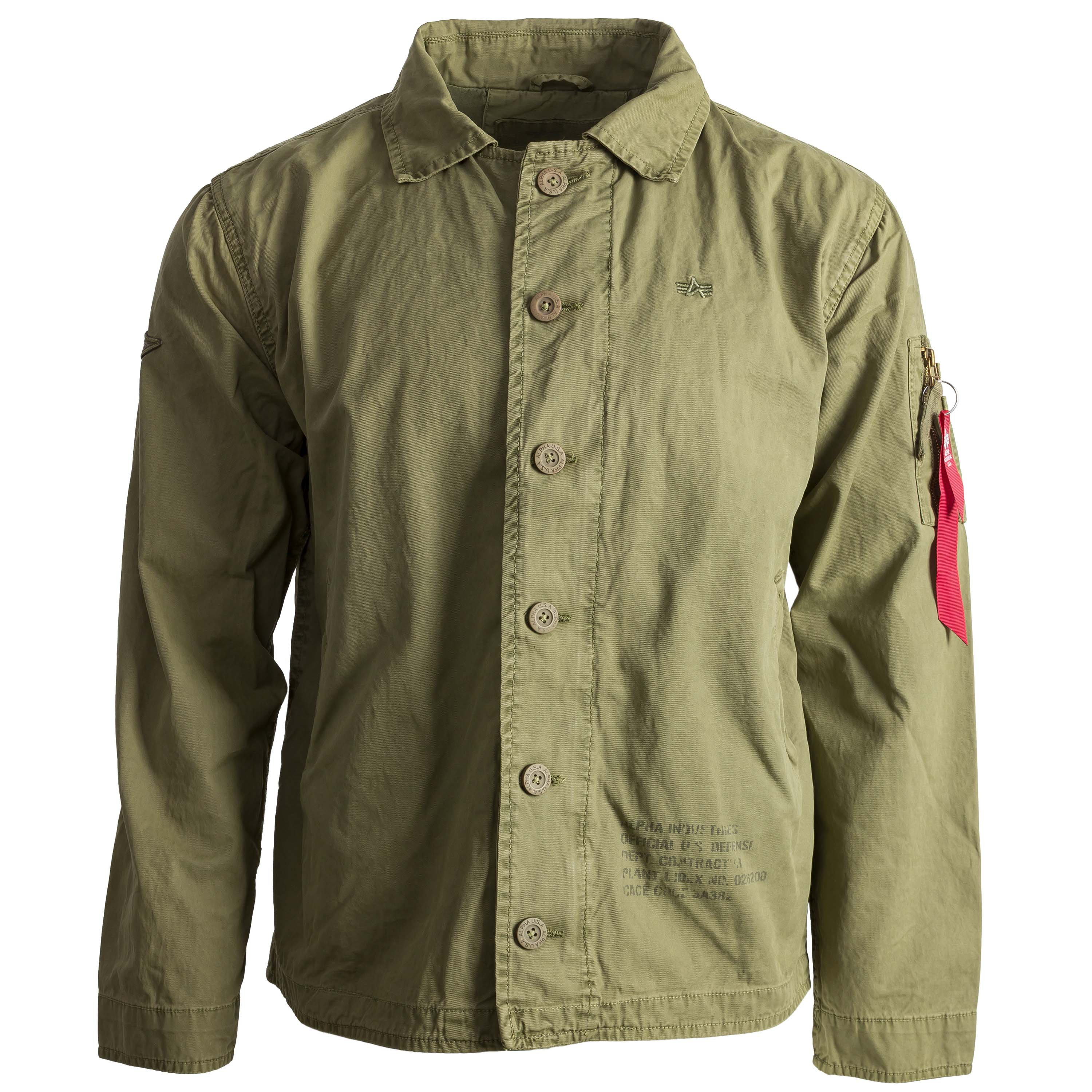 new concept fbb1d 9c473 Alpha Industries Jacke Authentic UC oliv
