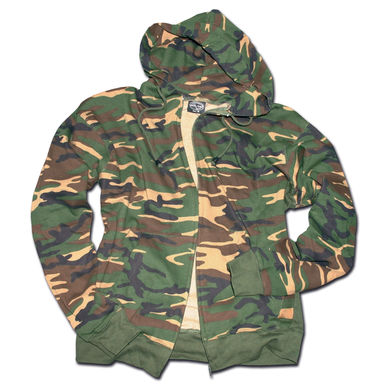 Zip-Hood Sweatshirt tarn
