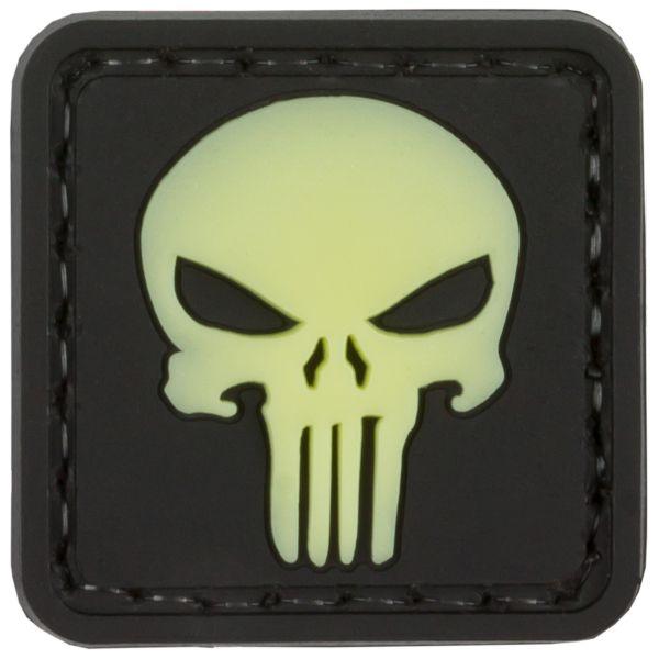 TAP 3D Patch Punisher Skull nachleuchtend
