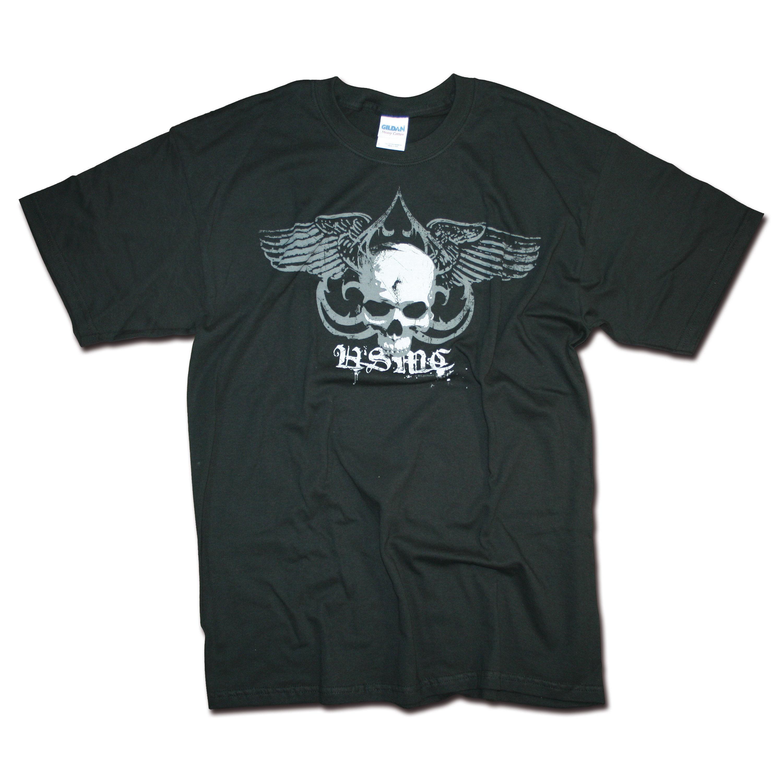 T-Shirt Mil-Pictures USMC Skull