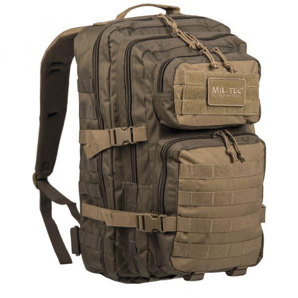 Mil-Tec Rucksack US Assault Pack LG ranger green coyote