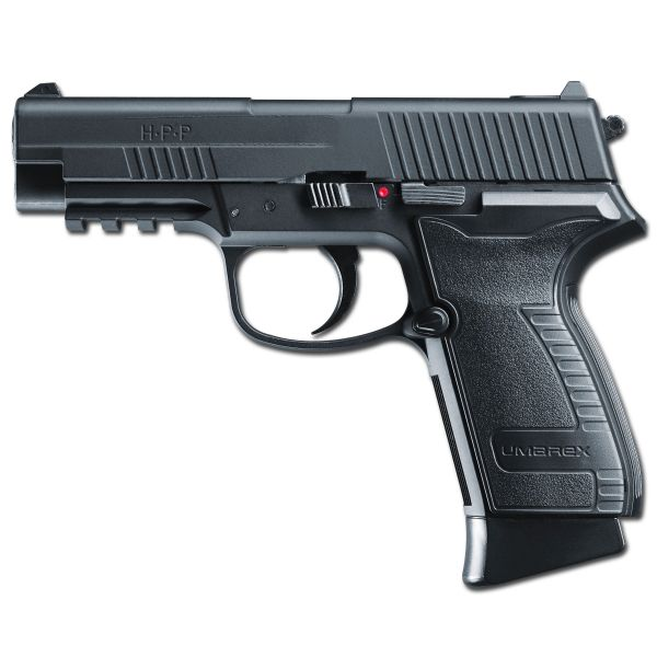 Umarex CO2 Pistole HPP brüniert Blowback
