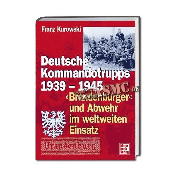 Buch Deutsche Kommandotrupps 1939 - 1945
