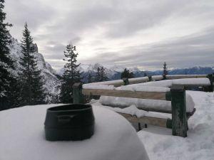 Kaffee im Gebirge
