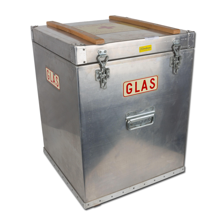 Schwedischer Thermo-Kühltransportbehälter silber gebraucht
