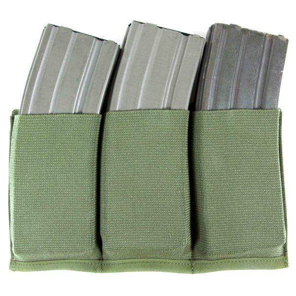 Blue Force Gear Mag Pouch Ten-Speed Triple M4 OD green