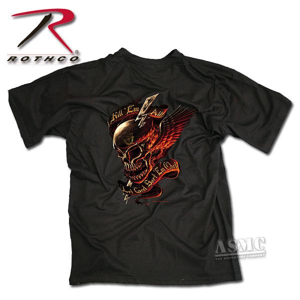 T-Shirt Kill em all let God sort em out