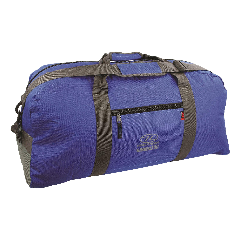 Highlander Reisetasche Cargo 100L blau