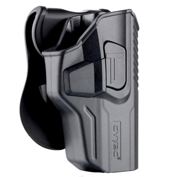 Cytac Paddleholster R-Defender Gen3 Walther PPQ M2/M3 RH schwarz