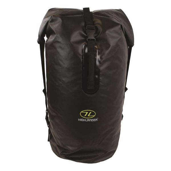Highlander PVC Packsack Troon 70L schwarz