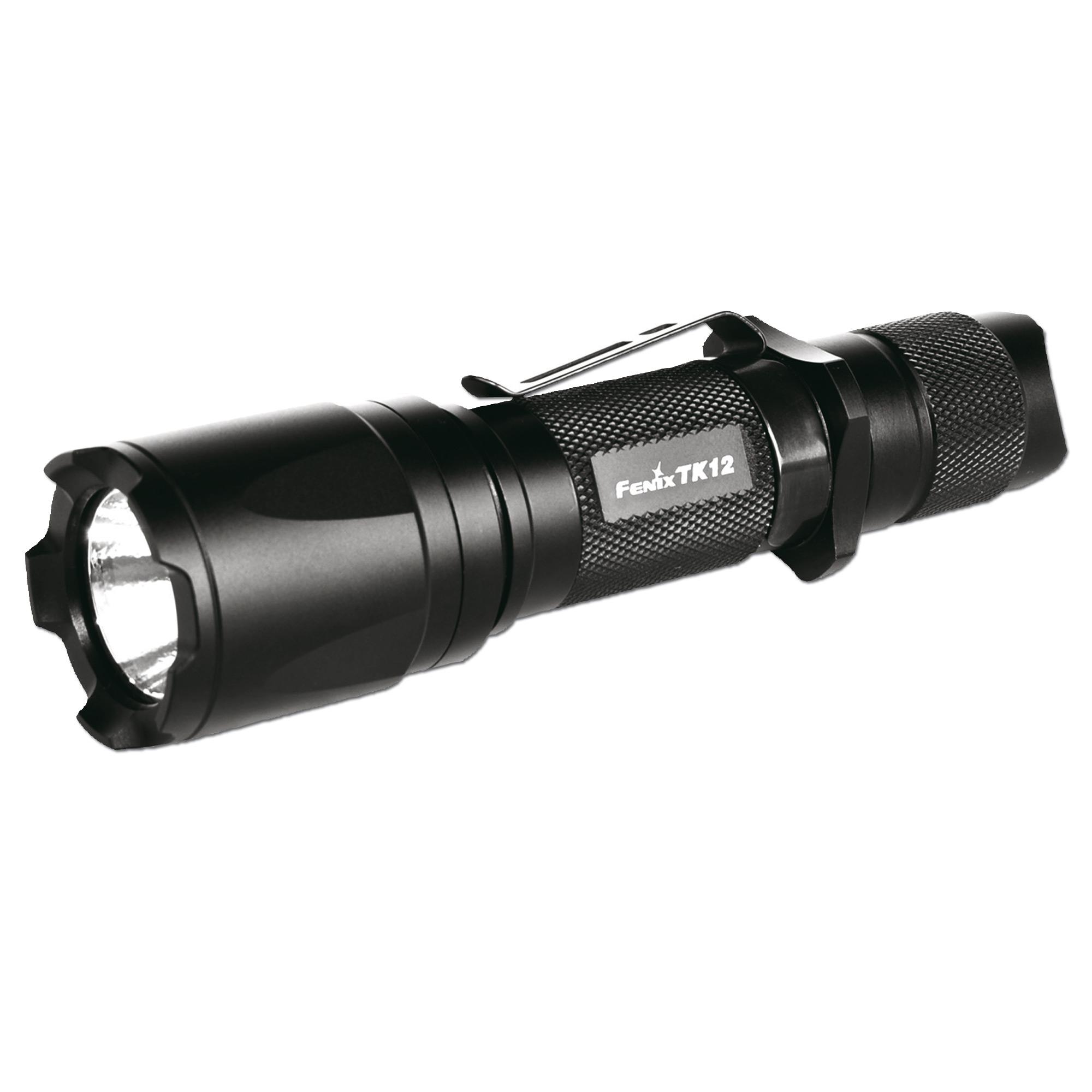 Lampe Fenix TK12 schwarz