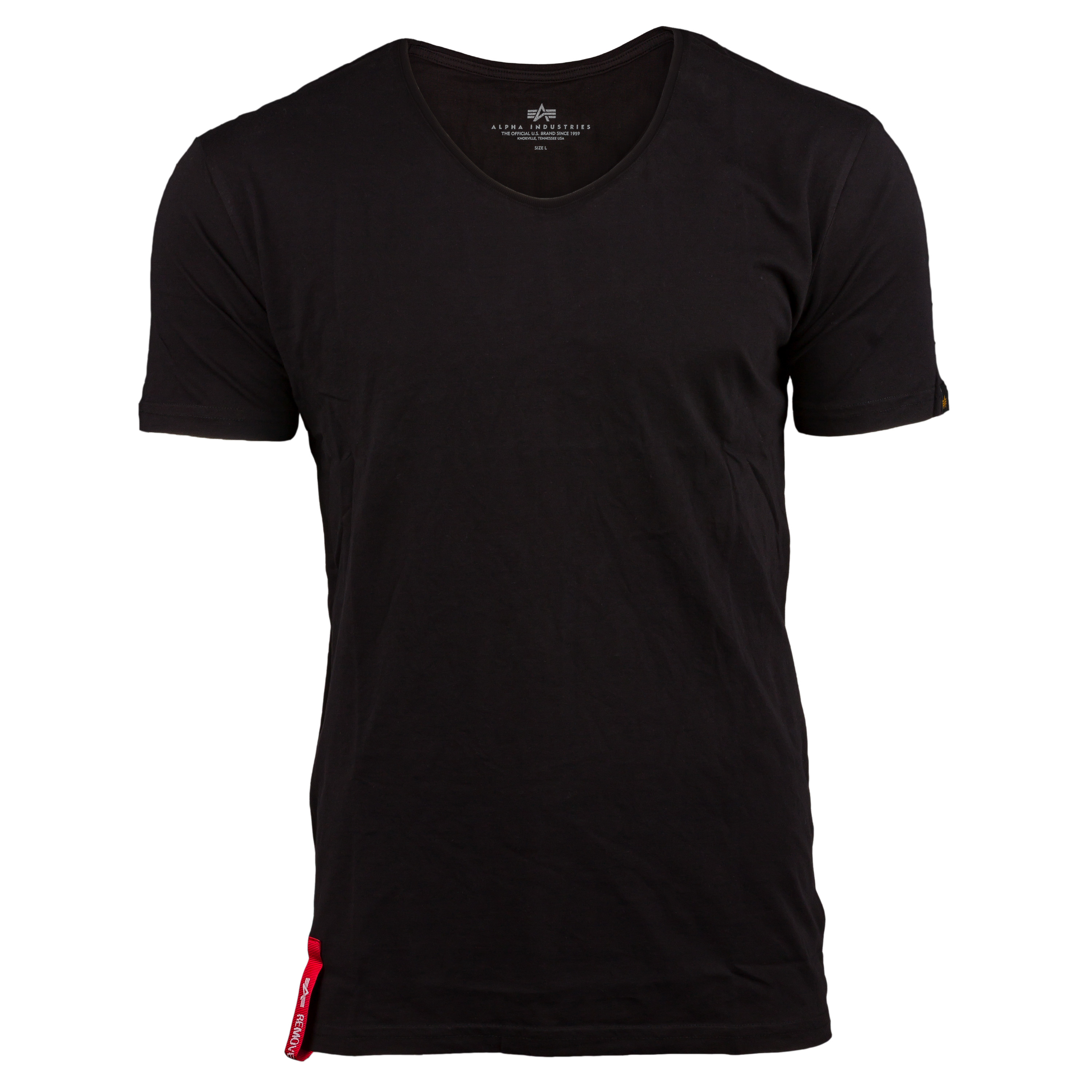 Alpha Industries T-Shirt RBF V-Neck schwarz