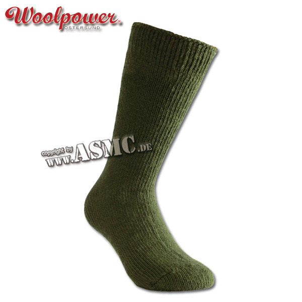 Woolpower Socken Arctic oliv