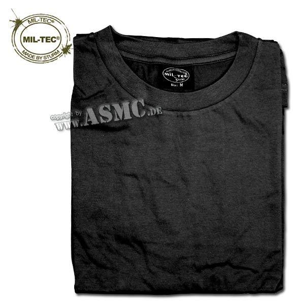 T-Shirt langarm schwarz