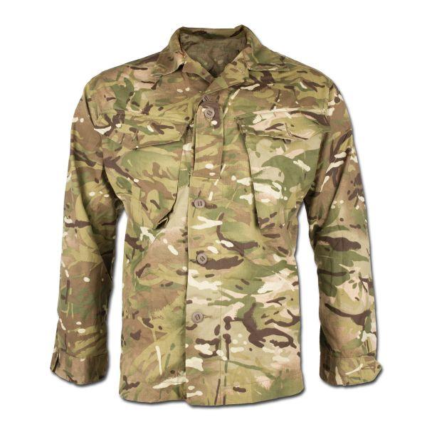 Britische Combat Feldjacke Tropen MTP tarn gebraucht