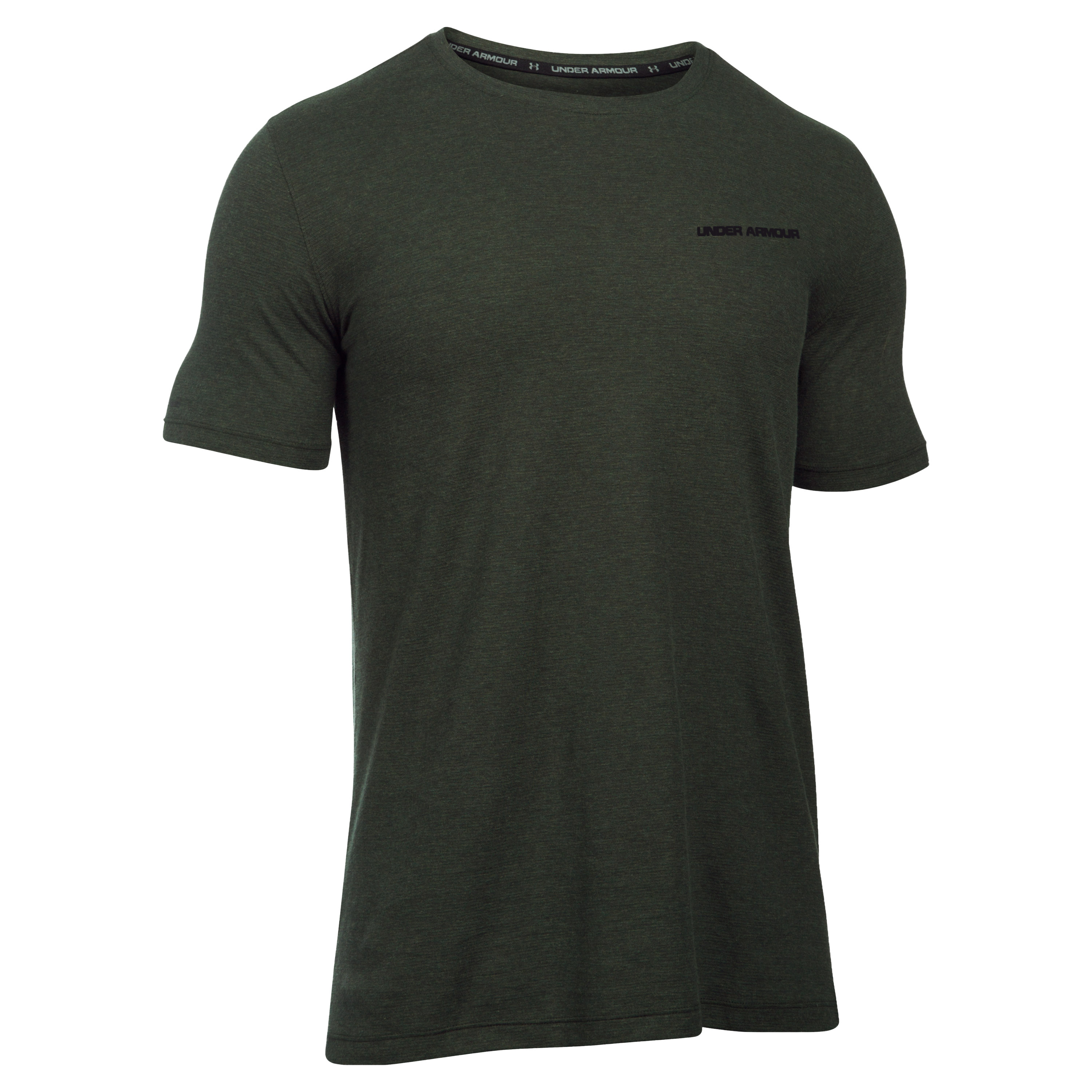 Under Armour T-Shirt Charged Cotton grün