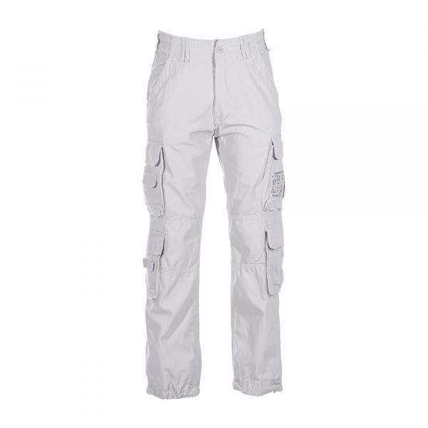Hose Brandit Pure Vintage Trouser old white