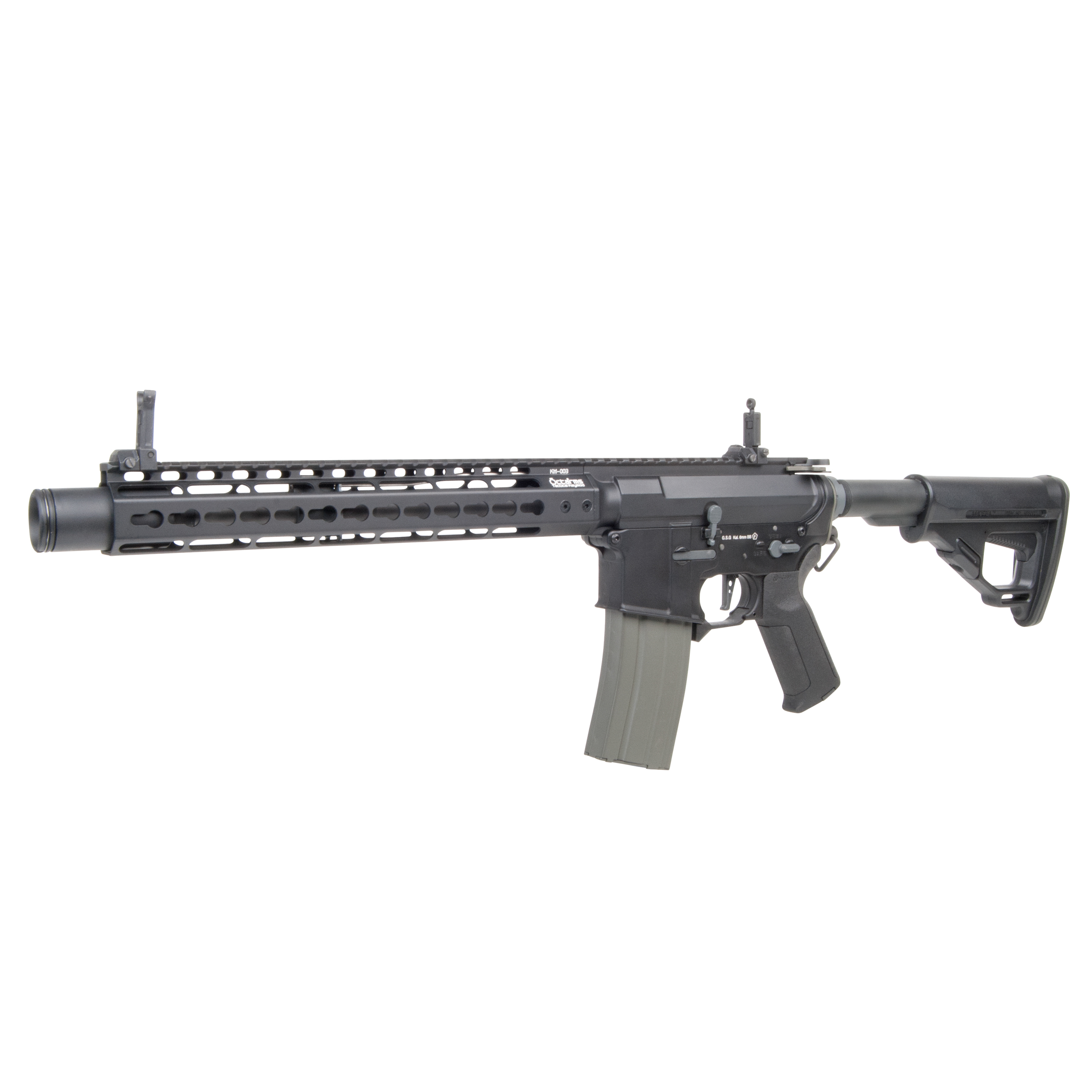 Ares Airsoft Octaarms X Amoeba Pro M4 KM12 1.3 J S-AEG schwarz