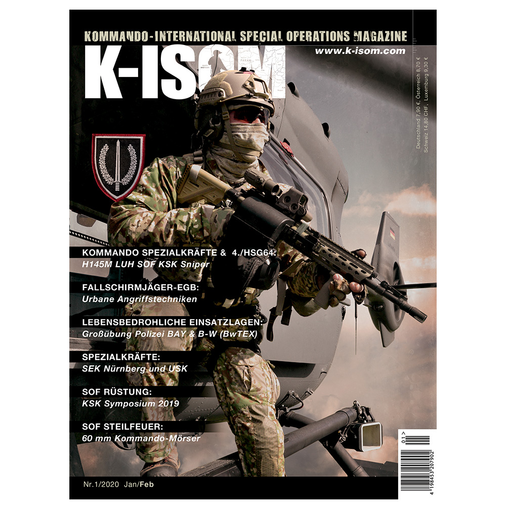 Kommando Magazin K-ISOM Ausgabe 01-2020