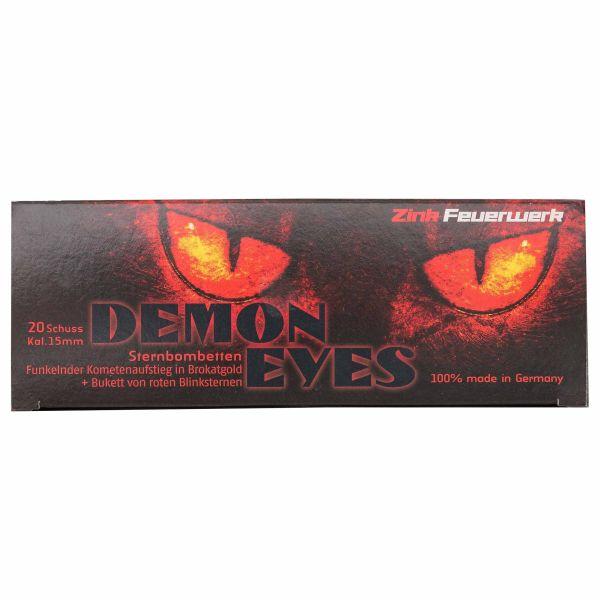 Zink Feuerwerk Demon Eyes Sternbombette 15 mm 20 Stück