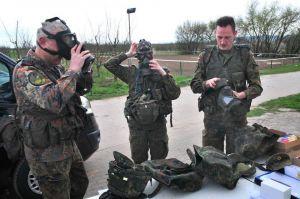 Vorbereitung zur Patroullie
