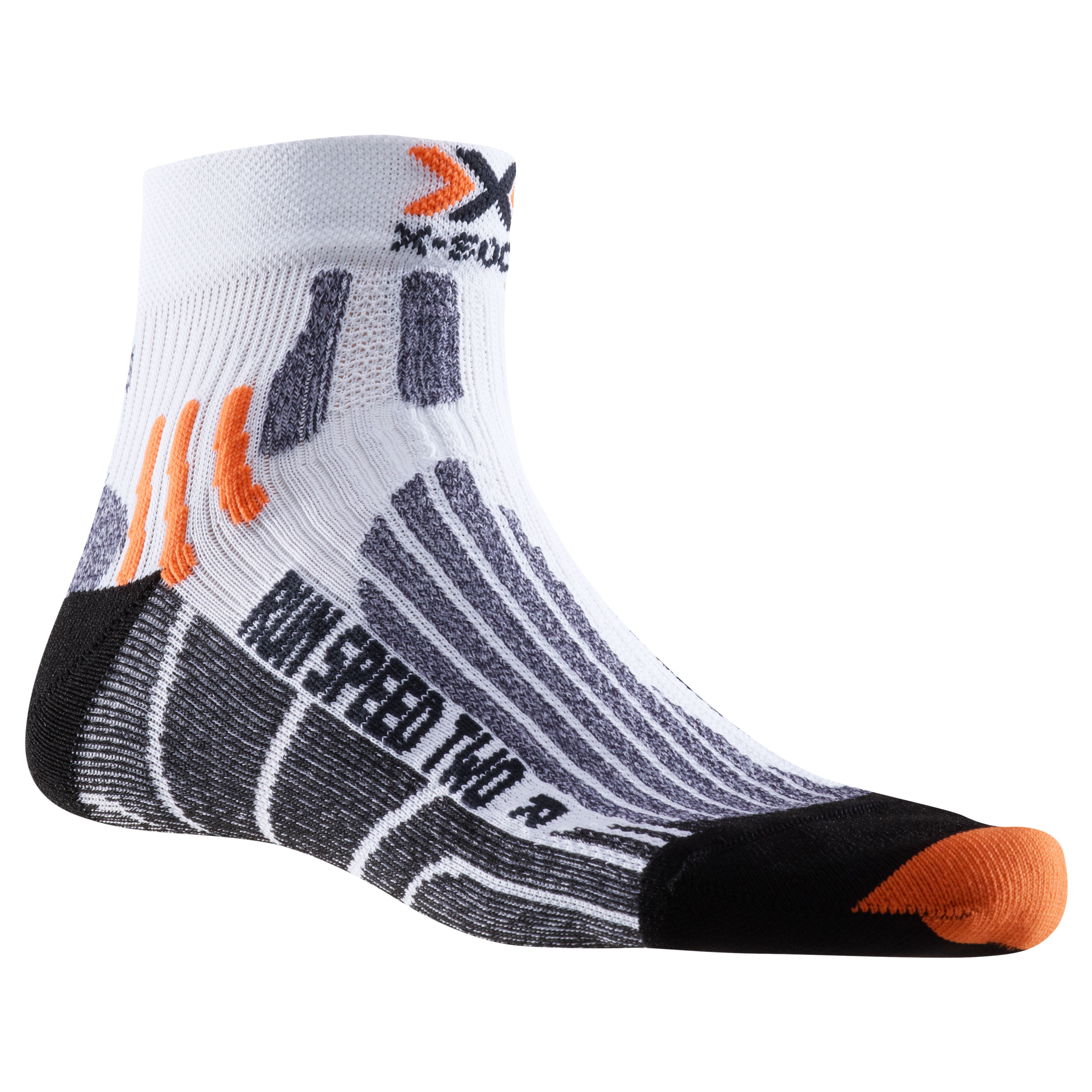 X-Socks Socken Run Speed Two weiß schwarz
