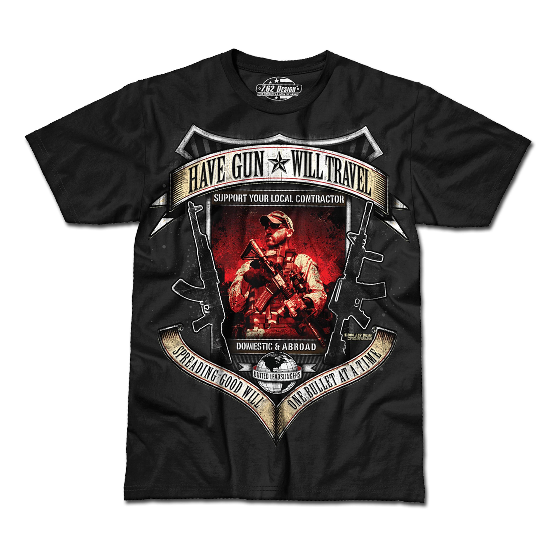 T-Shirt Have Gun, Will Travel