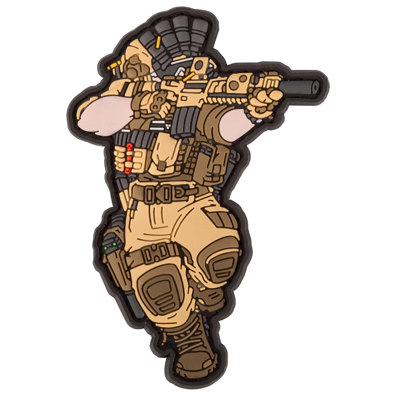 TacOpsGear 3D Patch PVC SOF US Navy Seal Operator