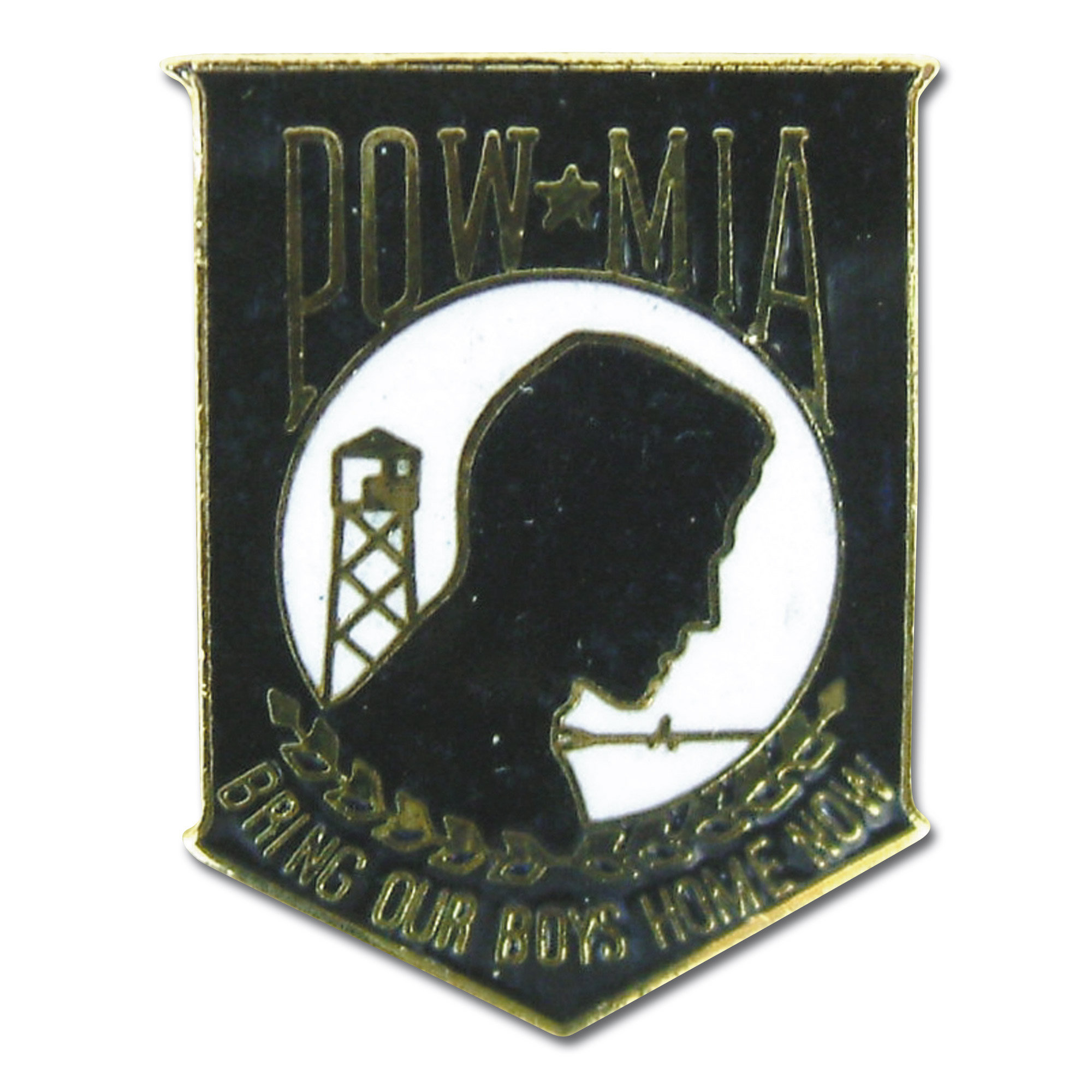 Abzeichen Pin POW MIA