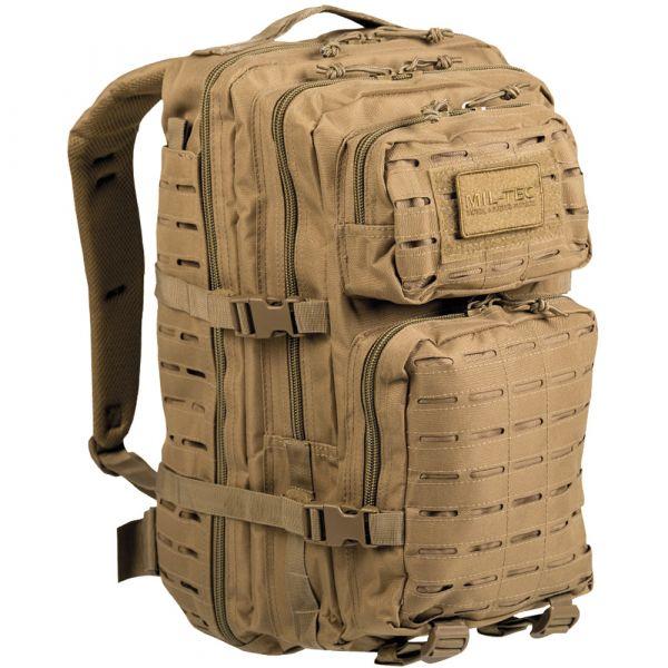 Rucksack US Assault Pack LG Laser Cut coyote