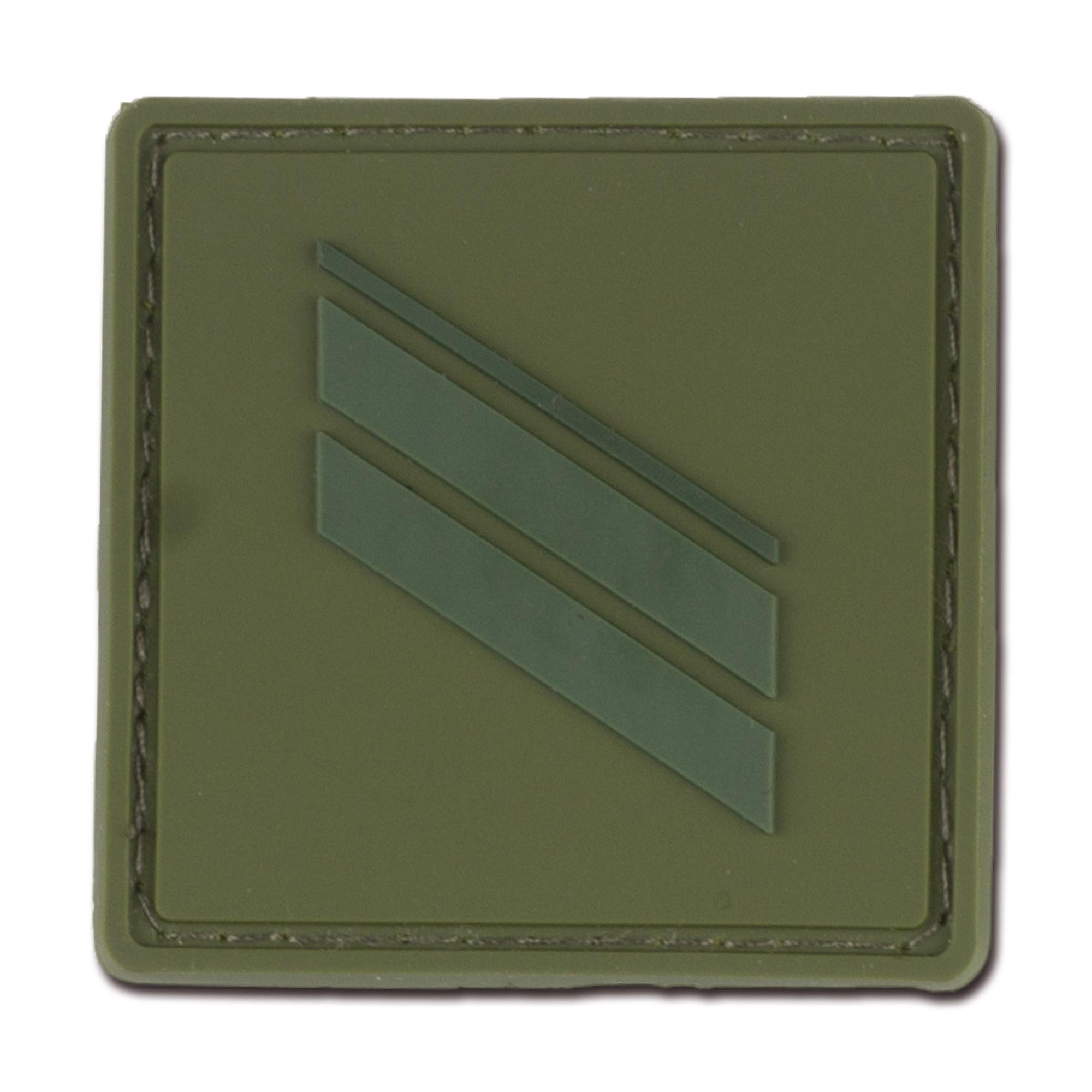 Dienstgradabzeichen Frankreich Caporal oliv tarn