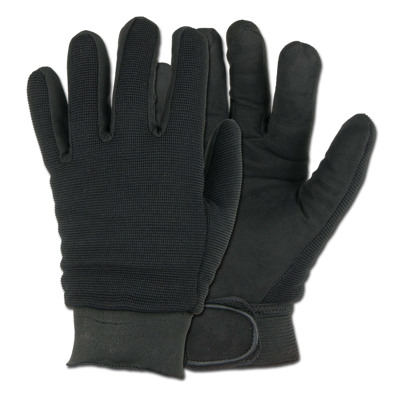 Handschuhe Mechanic schwarz
